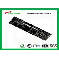 Black Communication PCB 8 Layer Rigid Circuit Board FR4 1.6mm Manufactures