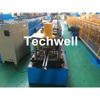Guide Rail Roll Forming Machine For Making Elevator , Doorframe , Window Frame As Well As Other Sliding System Devices Manufactures