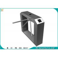 Single / Double Core  Waist Height Turnstiles IR Sensor Remote Control Manufactures
