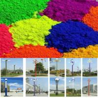 Synthesized By Epoxy Color Powder Coatings For Lanterns High Glossy Manufactures