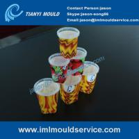 thin wall plastic injection moulding with IML, plastic thin wall mould making with IML Manufactures