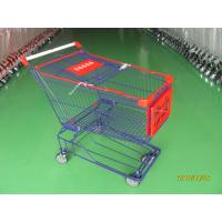 Supermaket store 150L asian style Wire Shopping Trolley carts with wheels Manufactures