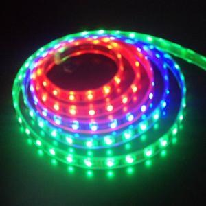 Decorative multicolor thin 5050 SMD Led Strip Light RGB IP20 3000K - 9000K Manufactures