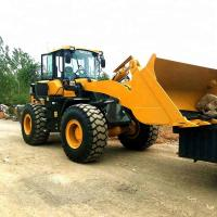 Buy cheap LG936L Construction Machinery Road Wheel Loader With 92kW WP6G125E22 Engine from wholesalers