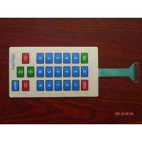 China Waterproof Custom Keyboard Membrane Switch Panel with Embossing / Silk Screen Printed on sale