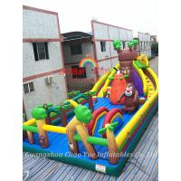 New Inflatable Bouncy Fun City and Inflatable Bouncy Jumping Castle for Amusement Park Manufactures