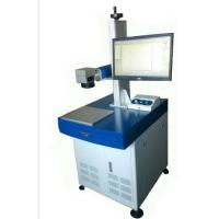Plastic / Rubber / Polyethylene Marking 20W Fiber Laser Marking Machine for Vehicle / Hardware Parts Manufactures