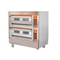 QL-4A Two Deck Gas Oven / Commercial Electric Baking Ovens With Automatic Protection Devices Manufactures