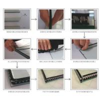 Quality Sealing Triple Insulated Glass Warm Edge Spacer Super Grey And Black Desiccant for sale