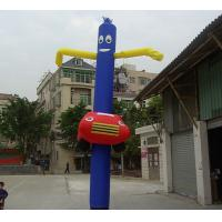 Outdoor Blue Car Air Dancer , Inflatable Marketing Products Cook Sky Manufactures