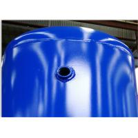 Carbon Steel Low Pressure Air Tank , 1320 Gallon Volume Compressed Air Holding Tank Manufactures
