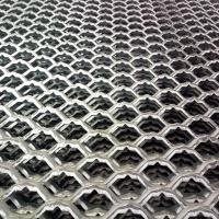 galvanized expanded metal walkway / diamond hole expanded metal sheet Manufactures