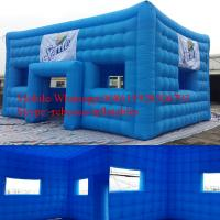 Small Square Inflatable Event Tent For Trade Show / Blow Up Tent Manufactures