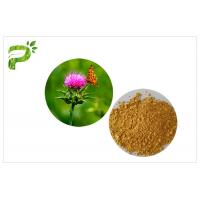 Light Yellow Plant Extract Powder Natural Ingredient Milk Thistle Seed Extract For Liver Medicine Manufactures