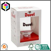 Wine Glass Packaging Box with Window; Custom Color Wine Cup Corrugated Box Manufactures
