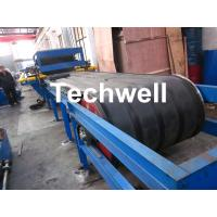 PU Insulated Sandwich Panel Forming Machine With Double Belt Drive Type , Cooling System Manufactures