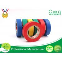 Flame Retardant Single Side Adhesive PVC Electrical Tape , Width 1-4 Cm Manufactures