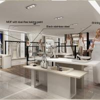 Interior design retail clothes shop counters for sale Manufactures