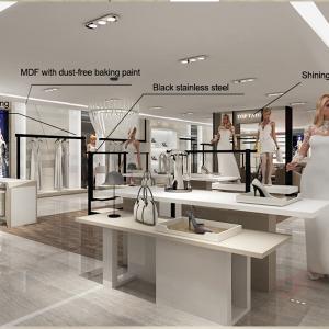 Interior design retail clothes shop counters for sale Manufactures