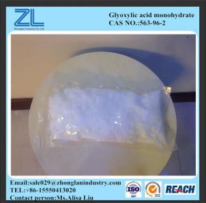 Glyoxylicacidmonohydrate563-96-2,medical intermediate Manufactures