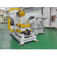 China Hydraulic  Decoiler And Straightener Feeder With Power Press Line Machines on sale