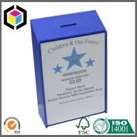 Blue Matte Color Print Corrugated Packaging Box; Custom Design Packaging Box Manufactures