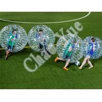 Custom Durable Inflatable Bumper Ball Bubble Balloon Football Sport(CY-M2724) Manufactures