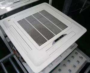 750CFM Four Way Hvac System Ceiling Cassette Fan Coil Unit Manufactures
