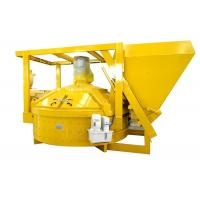 Stationary Electric Volumetric Pan Type Concrete Mixer With Large Capacity Manufactures