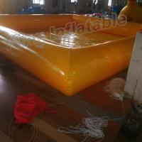 New Design 0.9mm PVC Tarpaulin Single Layer Inflatable Swimming Pools For Family Fun Manufactures