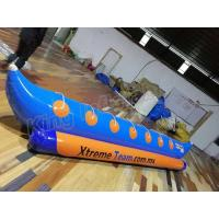 Single Tube Inflatable Pontoon Boats Fly Fishing Boats For 7 Persons Entertainment Manufactures