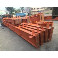 Quality High Strength Garage Steel Frame With Colored Steel Sheet And Frp Lighting Tiles for sale