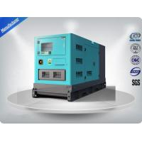 Stamford Alternator Genset Silent Generator Set , Three Phase Diesel Generator Manufactures