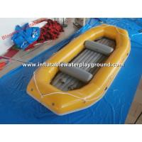 Durable Commercial Kids Inflatable River Raft Inflatable Paddle Boat Rentals Manufactures