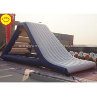 Gigantic 0.9mm PVC Inflatable Floating Water Slide Airtight Aqua Slide Manufactures