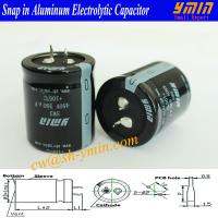 450V 390uF Capacitor 105C 6000 Hours Snap in Aluminum Electrolytic Capacitor for AC Wave Inverters RoHS Manufactures