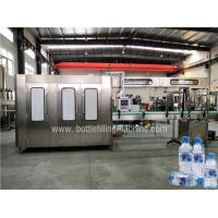 Fully Automatic Bottled Water Filling Line , Water Bottling Equipment Production Line Manufactures
