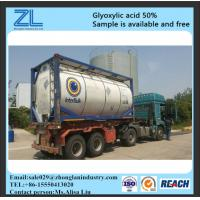 glyoxylic acid 50% export to Brazil Manufactures