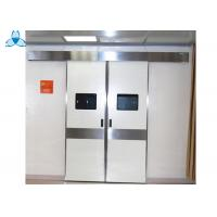 Stainless Steel Hospital Air Filter Electric Hospital Double Doors for Hospital Room Manufactures