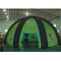 Giant Indoor Inflatable Spider Tent , Fire Proof Inflatable Event Tent Manufactures
