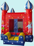 Kids Outdoor Small Inflatable Sports Games Commercial Bouncer For Amusement Park Manufactures