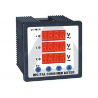 3P3W Combination Digital Ammeter & Combination Reading For 3 Voltage Meter Manufactures