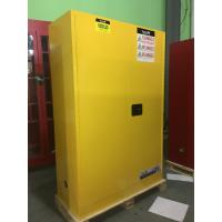 Buy cheap Durable Metal Flammable Liquid Storage Containers 45 GAL With Double Layer from wholesalers