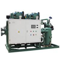 Bitzer compressor HSN7471-75Y refrigeration cold storage machinery with electrical control boxes Manufactures