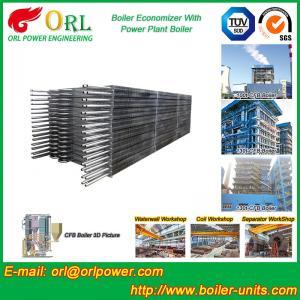 Condensing CFB Boiler Economizer Coil / Economiser In Power Plant power plant economizer Manufactures
