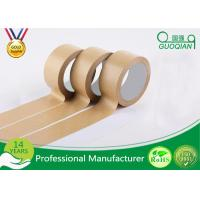 Automatic Adhesive Custom Printed Kraft Paper Tape For Packing / Wrapping Manufactures