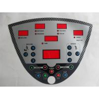 Quality Professional Membrane Switch Graphic Overlay With 3M Adhesive And Transparent for sale