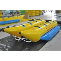 Commercial grade PVC Inflatable Boat , Banana Boats for many people Manufactures