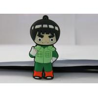 Naruto PVC mould Custom USB Memory Stick , Usb Flash Thumb Drive Rock Lee Manufactures