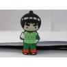 Buy cheap Naruto PVC mould Custom USB Memory Stick , Usb Flash Thumb Drive Rock Lee from wholesalers